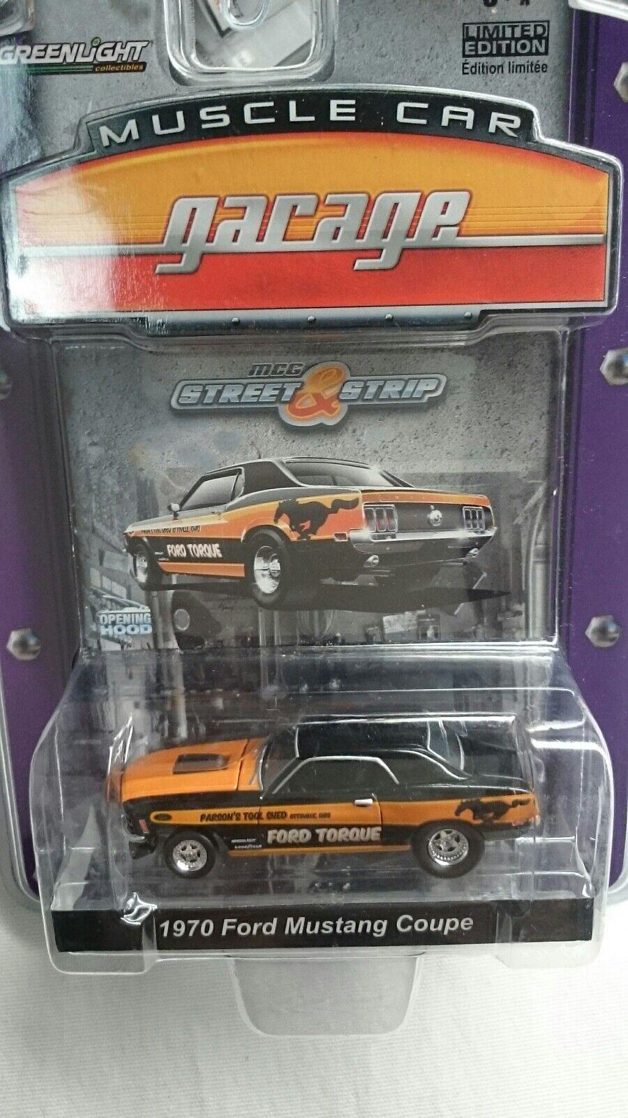 verdelight 1970 Ford Mustang Mustang Mustang Coupe mcg Street & Tira  RARA  como Nuevo Par Ford ac6f54