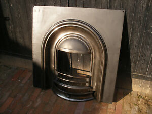 Reclaimed cast iron fireplaces
