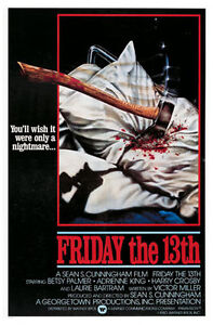 Friday The 13th Movie Poster Print Pillow Amp Axe
