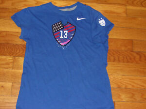 NIKE-US-SOCCER-ALEX-MORGAN-SHORT-SLEEVE-SOCCER-T-SHIRT-GIRLS-SMALL-EXCELLENT