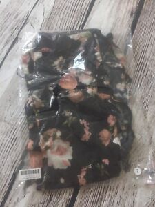 Joyfolie PETAL PANT IN FLORAL Girls Sz 7 Casual