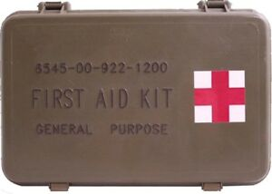 NEW Elite First Aid FA101 General Purpose Military Issue Case Aid Kit