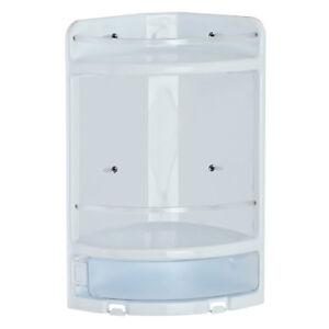 Angoliera-porta-oggetti-con-due-ripiani-in-plastica-bianca-doccia-arredo-bagno