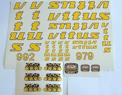 Vitus decal set 979 or 992or Carbone 3 or Carbone 9  New!