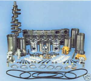 Details about Komatsu 6D105 Engine Overhaul Rebuild Kit