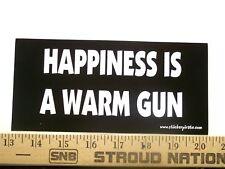 Happiness is a Warm AK-47 Funny Bumper Sticker Gun Case