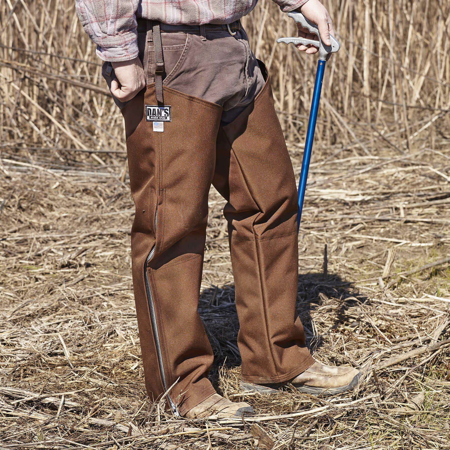 "Dan's Hunting Gear Snake Predector Chaps Large 30"" Inseam"