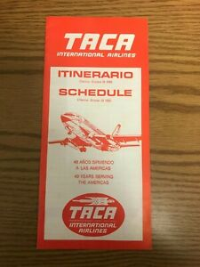 TACA-International-Airlines-System-Timetable-26-OCT-1980