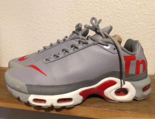 Men's Nike Air Max Plus TN Mercurial Wolf Grey Red