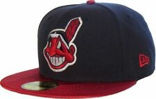 Cleveland Indians MLB Baseball Cap Kappe Neu New Era Size 7 1/8 Model 59fifty