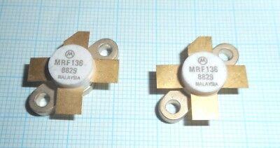 Hingebungsvoll 1pair Mrf136 Rf Power Mosfet, 150mhz, 28v, 15w, 16db Typ., Class: Ab