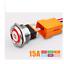 22 mm 15 A Bouton en Métal Interrupteur étanche avec Lumière Auto-Verrouillage Acier Inoxydable