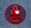 Cool I love Shopping Shirt Patch Badge 7.5cm 3 inch