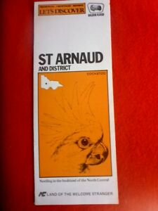 ST-ARNAUD-amp-DISTRICT-GOLDEN-FLEECE-FOLDED-MAP-COCKATOO