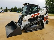 2021 Bobcat T66 Compact Track Loader With Bucket 66 Hours Cab Heat Ac 2 Speed
