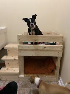 Custom Built Dog Bunk Bed Cat Pet Sleeping Area House Ebay
