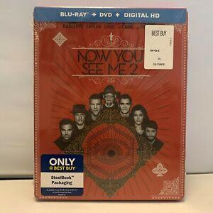 Ora-Voi-Vedere-Me-2-Steelbook-Blu-Ray-Migliore-Comprare-Esclusivo-Nuovo
