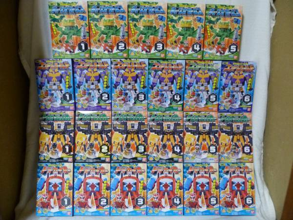 Bandai Mini Pla Zyuohger Juohger Tier- Sentai 03 & 04 & 05 & 06 Alle 23 Typ