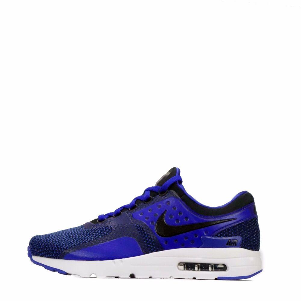 Nike Air Max Zero Essentiel Homme Chaussures noires/Bleu