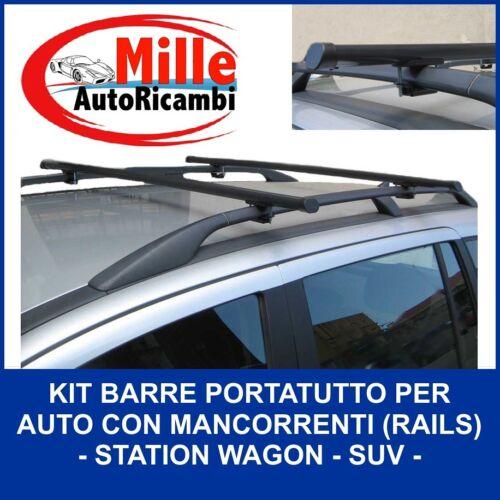 BARRE PORTATUTTO PEUGEOT 4007 RAILS1 DAL 2007 PORTA PACCHI BAGAGLI