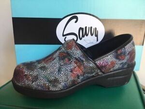 Savvy Nursing Shoes Silver mosaic   eBay