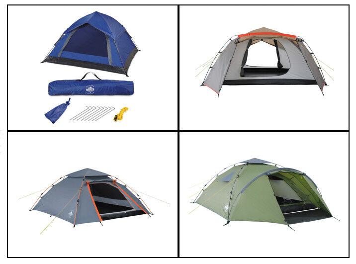 Tente de camping tente/schlafzelt tente/schlafzelt tente/schlafzelt pour 3 à 6 personnes 13b133