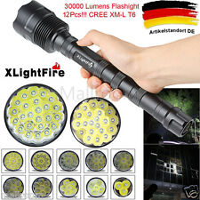 XLightFire 32000LM 24x CREE XML T6 5Modi 18650 Super Bright LED Taschenlampen