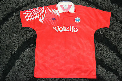 Rare Ssc Napoli Away 91 92 Vintage Umbro Football Shirt Jersey Maglia Size L Ebay