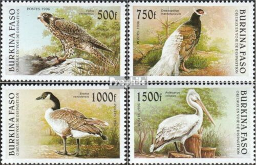 Burkina Faso 14061409 mint never hinged mnh 1996 Birds