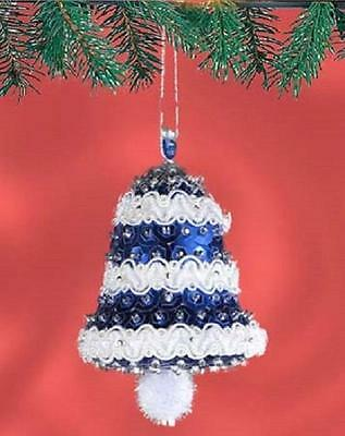 Beaded  Sequin Ornament Kits collection on eBay