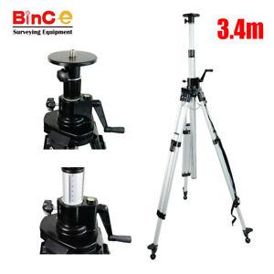 3-4M-Elevating-Tripod-Elevator-Tripod-for-Survey-Rotary-Laser-Level-Surveying