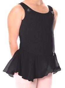 Nwt-New-Danskin-Leotard-Dress-Skirt-Dance-Black-Cute-Nice-Toddler-Girl-1-2-1-2