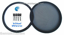 """1X 12"""" inch Sub Woofer """"Clipless"""" Fine Mesh GRILL Speaker Protective Cover VWLTW"""
