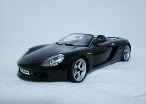 Maisto-2004-PORSCHE-CARRERA-GT-Negro-1-18-escala-Diecast-Car