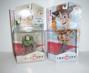 DISNEY INFINITY 1.0 2.0 Buzz Lightyear Crystal Woody ...