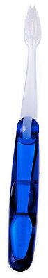 SoFresh Flossing Toothbrush: Travel Size (foldable) - Dark Blue