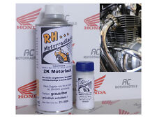 Honda CB 500 Four K2 Motorlack Lack Motor Grau Silber Engine Enamel Grey Silver