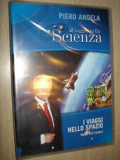 DVD N° 15 VIAGGIO NELLA SCIENZA PIERO ANGELA I VIAGGI NELLO SPAZIO SOLI LONTANI