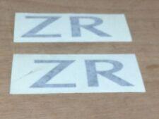 """MG ROVER MGZR ZR SIDE BODY DECAL IN GREY X2 """"ZR"""" DAF000280LFS"""