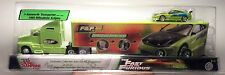 FAST AND THE FURIOUS PAUL WALKER KENWORTH TRANSPORTER ECLIPSE RACING CHAMPIONS
