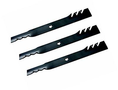 """Oregon 595-605 Blade G5 AYP//Craftsman 54/"""" 187255 187254 187256 Set of 3"""