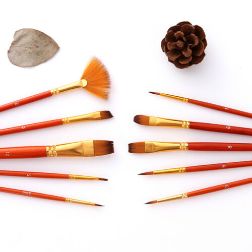 Professional Art Paint Brush Set Oil Acrylic Watercolour Brushes Artist Supplies