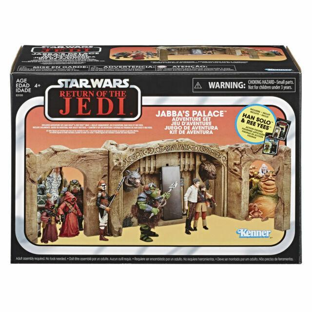 Kenner Hasbro Star Wars Return of the Jedi 3.75 in  Jabba's