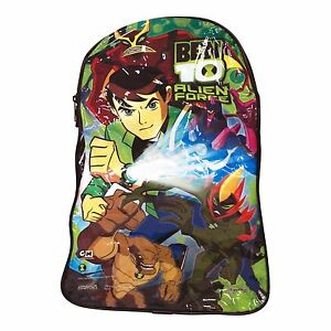 Ben 10 Alien Force Childrens Boys Clear Swim Beach Travel Bag Backpack