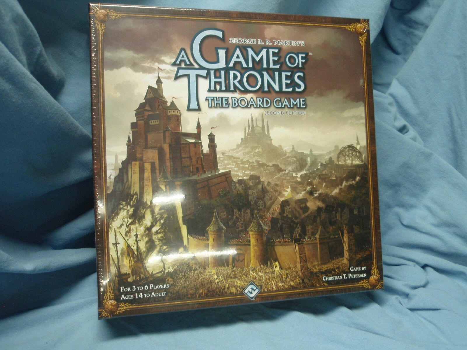 NIB A Game of Thrones Board Game 2nd ed NEW SEALED Gift Fantasy Flight Games FFG