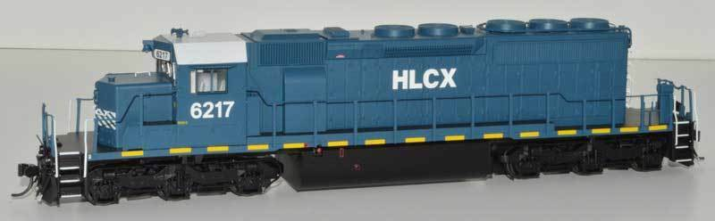 Bowser SD40-2 with DCC and sound HLCX