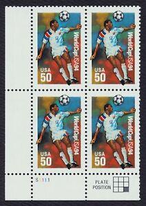 #2836 50c Copa Del Mundo 94 , Placa Bloque [S1111 Ll ] Nuevo Cualquier 5=