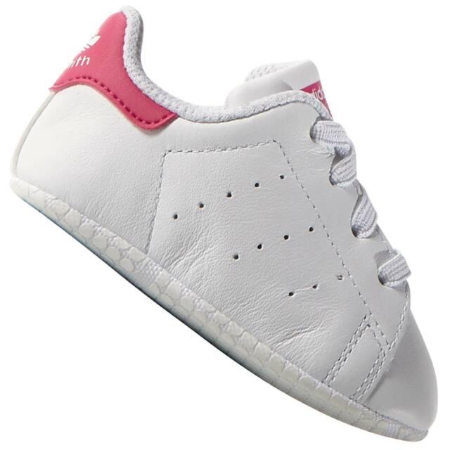 960fe9b18307e adidas Originals Stan Smith Crib Baby Babyshoes Shoes Anti-slip ...