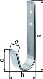 Wandhaken-90mmx30-mmx35mm-Flachstahl-verzinkt