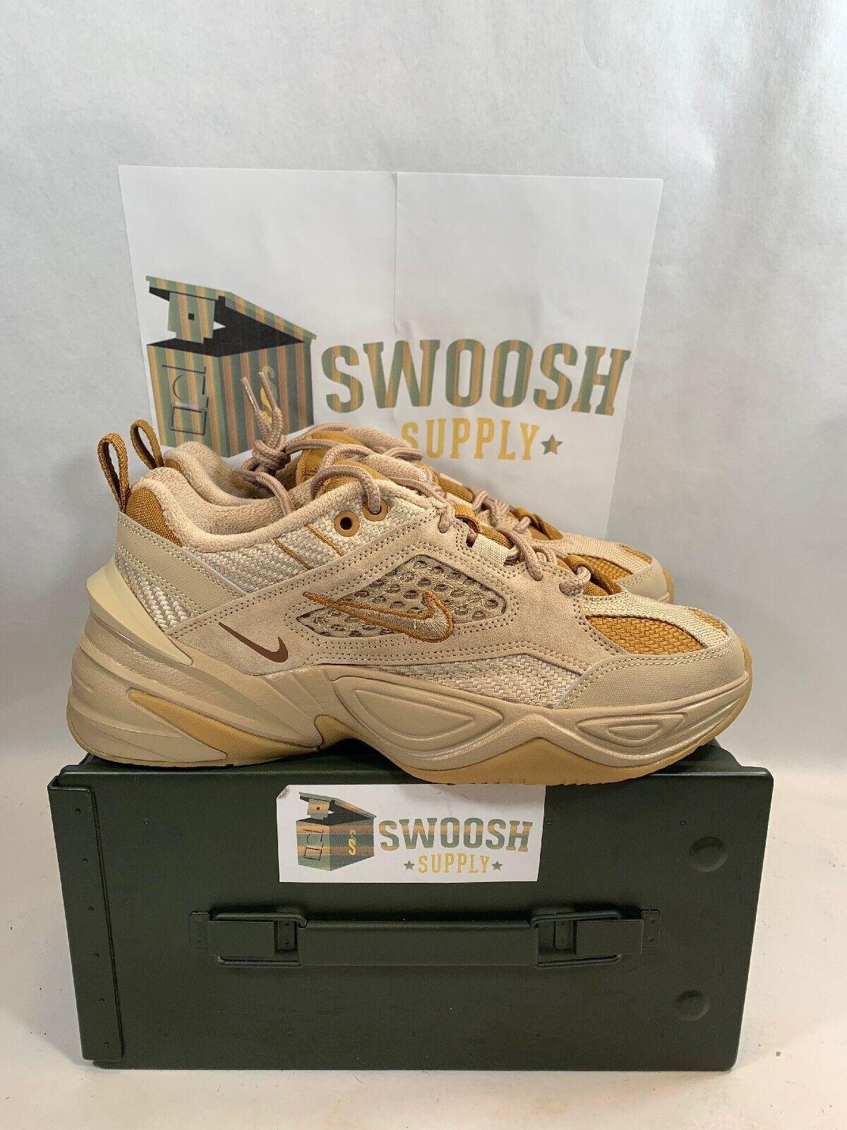 Nike M2K Tekno SP Linen Ale Brown Wheat Gum Men Sneakers BV0074-200 Size 8